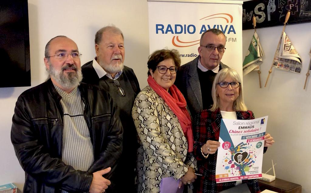 [VIDEO] Vendargues, braderie solidaire au Salon Régional Emmaüs, le 17 novembre - lemouvement.info